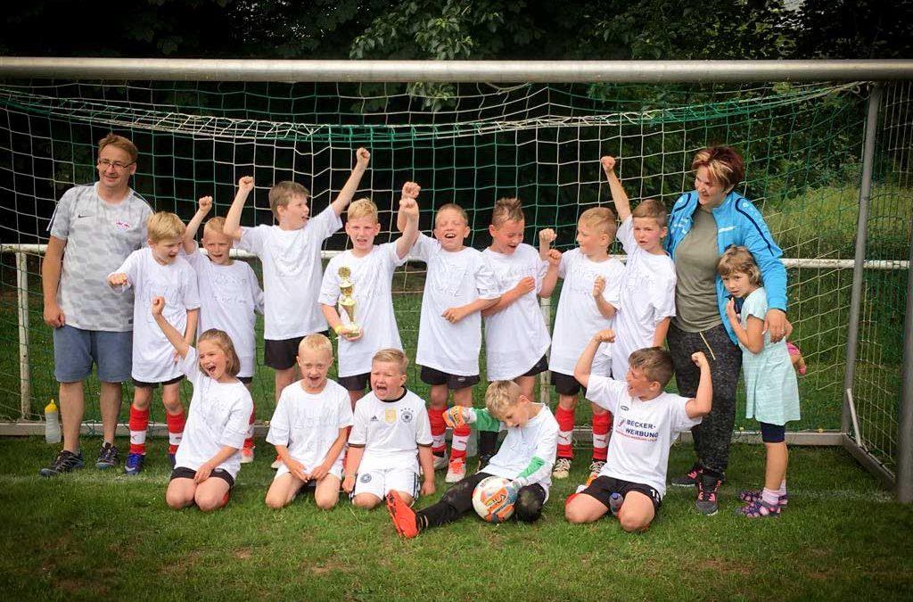 F-Junioren feiern Kreisligameisterschaft
