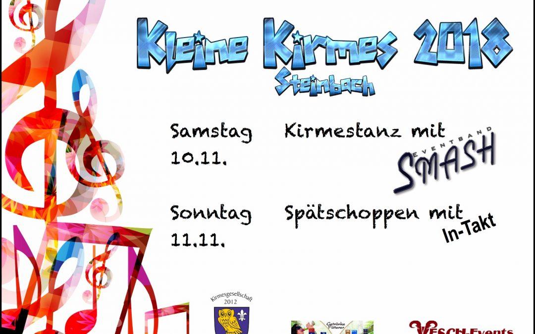 Kleine Kirmes 2018 in Steinbach