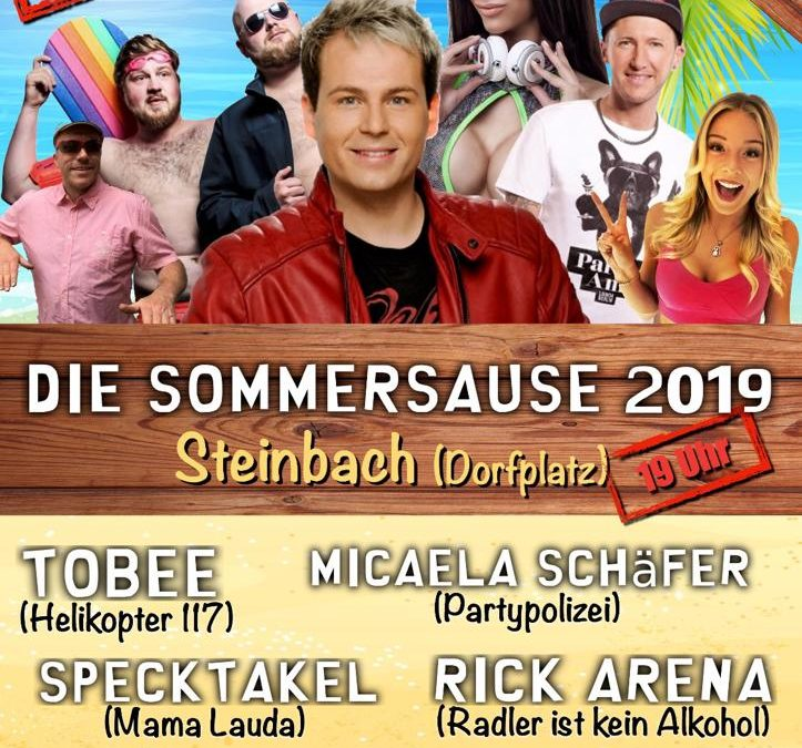 Die Sommersause 2019 – Mallorcaparty